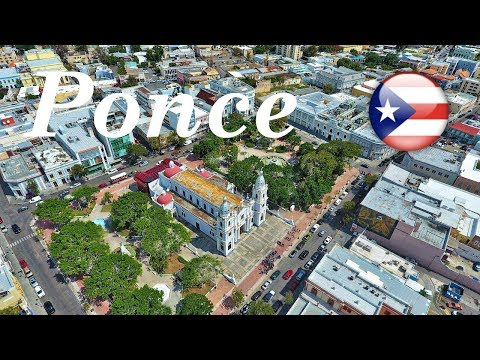Ponce, Puerto Rico From The Air 2019