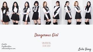 Sss  Mixnine Dangerous Girl ENG ROM HAN.mp3