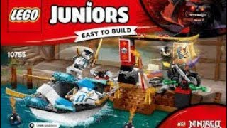 Lego ninjago juniors wodny pościg Zane'a