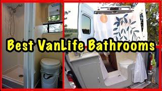 Best Van Life Shower And Toilet Setups