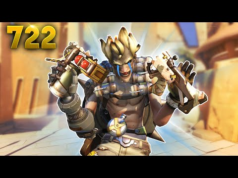 *NEW* Changes BREAK Junkrat's LAUNCHER!! | Overwatch Daily Moments Ep.722 (Funny and Random Moments)