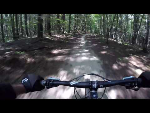 Flying Solo! Mountain Biking downhill as fast as I can! dupont state forest  Love mtb!