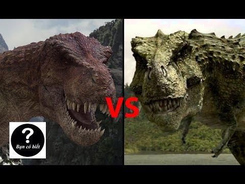 T rex vs Tarbosaurus, con nào sẽ thắng? || Bạn Có Biết?