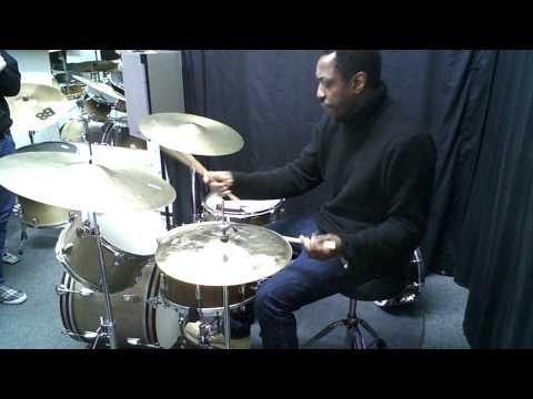 Steve Jordan On Elvin Jones Cymbals (pt. 2)