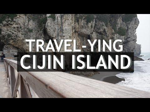 Travel-ying Cijin Island Taiwan (旗津島)