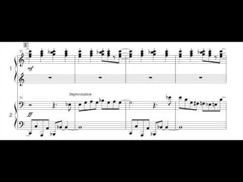 Super Mario Bros. Theme Piano Four Hands. arranged by Isao Horikoshi