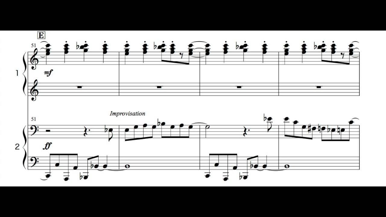 Super Mario Bros  Theme Piano Four Hands  arranged by Isao Horikoshi