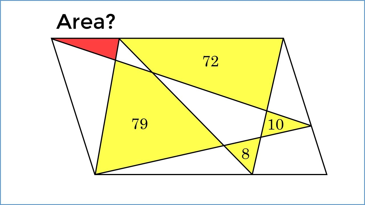 A Chinese 5th Grader Solved This In Just 1 Minute! HARD Geometry ...