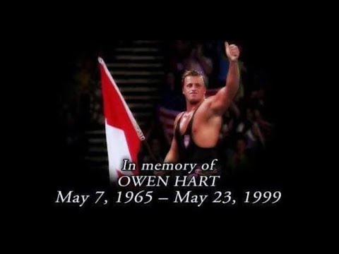 WWE released  the 1999 over the edge PPV where Owen Hart died on May 23,1999? Owen's Story!!!