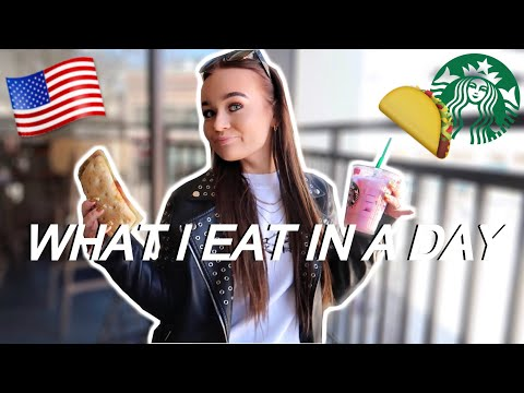 WHAT I EAT IN A DAY | USA