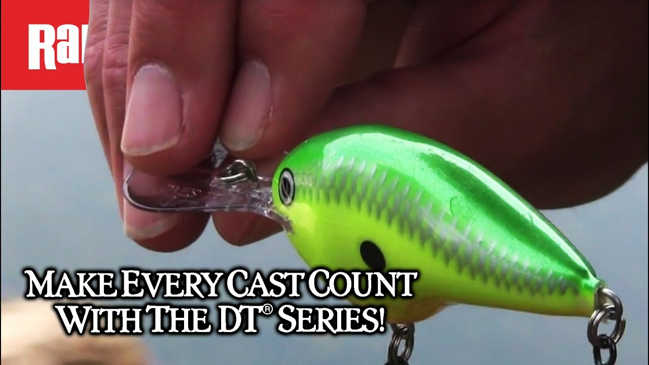 016dafd322b0 Rapala® DT® (Dives-To) Series - YouTube