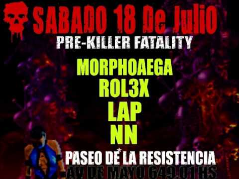 LAP @ PRE Killer Drumz Fatality (live DnB set) Jul 18,2009