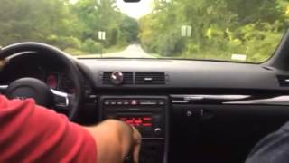 2008 audi a4 big turbo launch control clip 0 60