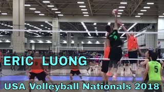 Eric Luong Volleyball Highlights - USAV Nationals 2018