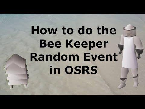 How To Do The Bee Keeper Random Event In OSRS
