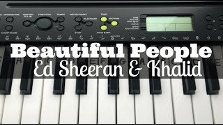 beautiful-people-ed-sheeran-khalid-easy-keyboard-tutorial-with-notes