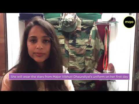 Nitika Kaul Dhoundiyal, Wife Of Pulwama Martyr Major VS Dhoundiyal, To Join The Indian Army