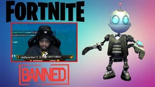 KINGRICHARD CAUGHT USING LOOT BOTS! NINJA CRAZY CLIFF SAVE WIN! (Fortnite Best Moments #4)