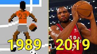 Evolution of NBA Games 1989-2019