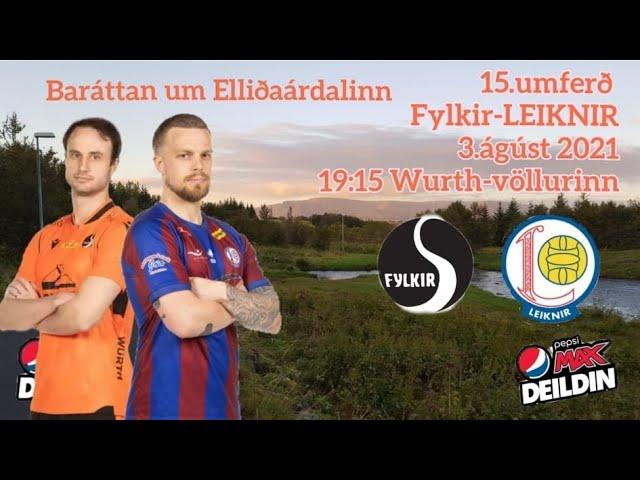 Viðtöl: Siggi og Ósi eftir sóttkví fyrir Fylkisleikinn