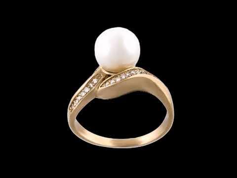 Нереально красивые кольца с жемчугом 💍 новинки 2018