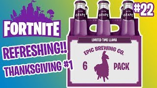 REFRESHING 6-PACK O' LLAMAS | LIMITED TIME LLAMAS | FORTNITE #22