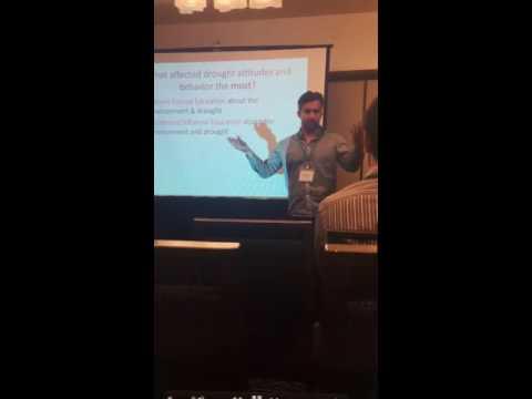 California Drought solutions presentation, AAG 2016 San Francisco