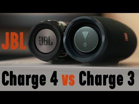 Krótkie porównanie JBL Charge 4 vs JBL Charge 3 + KONKURS dla widzów