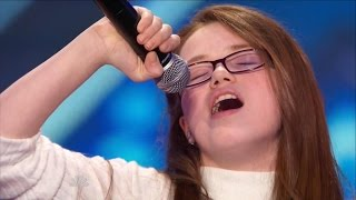 Repeat youtube video America's Got Talent S09E05 Mara Justine 11 Year Old Superstar Singer