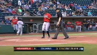Moroff slugs second homer for Indians