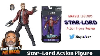 marvel legends star lord action figure review hasbro guardians of the galaxy vol 2