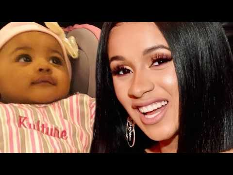 Anjali Queen B - Cardi B Shares Pic of Baby Kulture After Announcing Split With Offset