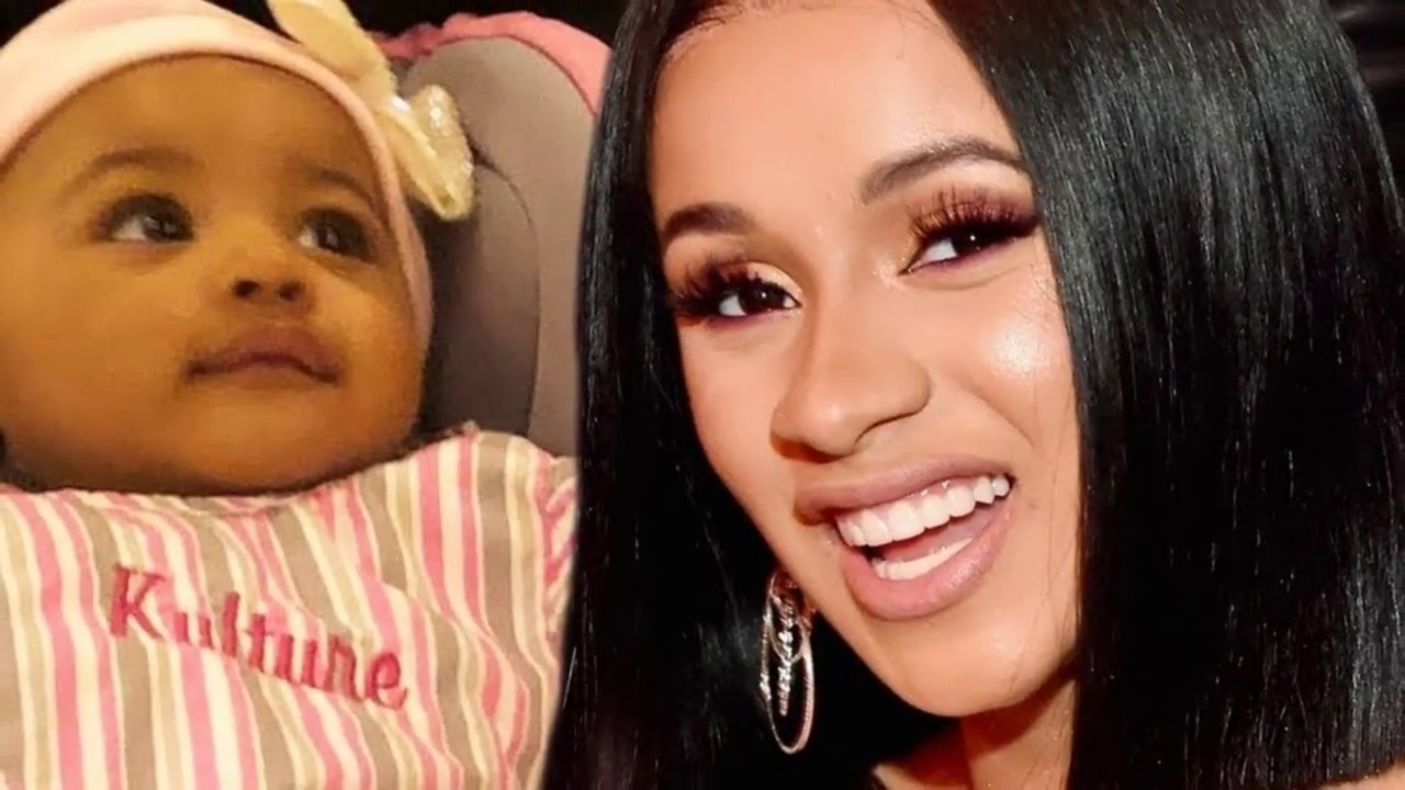 Offset Gets Daughter Kulture Kiari S Name Tattooed On His: CARD B Shares First Photo Of Daughter KULTURE KIARI With