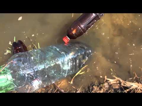 Рыбалка без удочки на бутылку Plastic bottle fishing