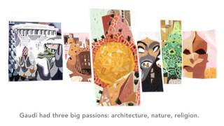 Antoni Gaudí Google Doodle
