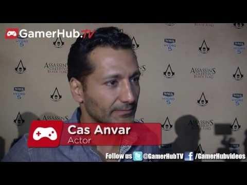 Cas Anvar on Assassins Creed 4  Gamerhub.tv