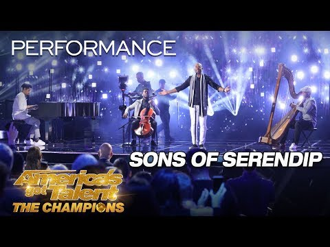 "Sons of Serendip: Quartet Stuns With ""Somewhere Only We Know"" - America's Got Talent: The Champions Mp3"