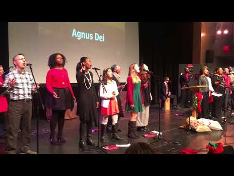 Greater Hartford Church - 2017 Christmas Service Agnus Dei performance