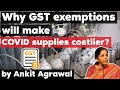 GST exemption on Covid 19 Supplies will make it dearer says Finance Minister Sitharaman Download Mp4