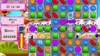 Candy Crush Saga Level 538 Clear all the Jelly!