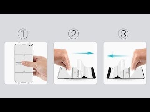 LK flexible film Screen Protector installation video for One Plus 7 Pro