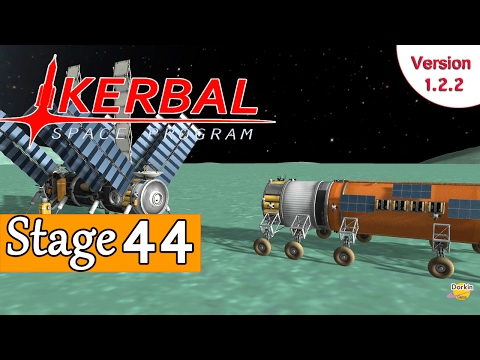 [FR] Kerbal Space Program - Ep 44 - La station d'essence