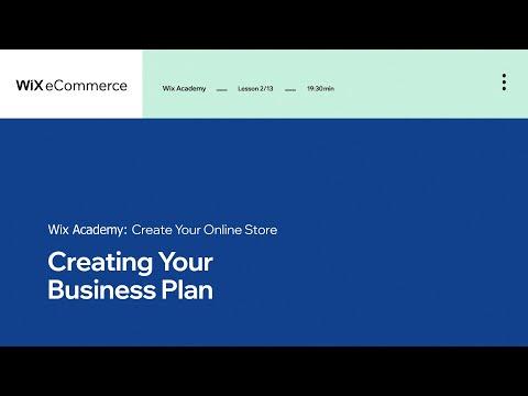 business lesson plans