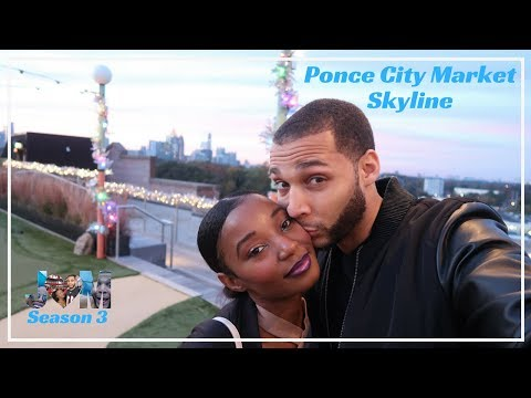 Date Night at Ponce City Market Atlanta  Rooftop Experience 🎉