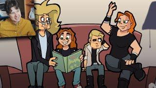 ФИНАЛ Metal Family Реакция на MetalFamily