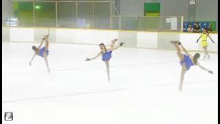 道家杯2017グループ演技「ララランド」 プロスケーター:澤山璃奈、小川...