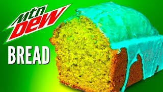 MOUNTAIN DEW BREAD DIY - How To Turn Soda Into Banana Bread!