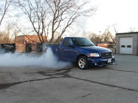 2004 Sonic Blue Ford Lightning F150