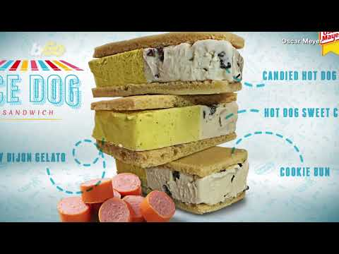 Heath West - Oscar Mayer Is Releasing A Hot Dog-Flavored Ice Cream Sandwich