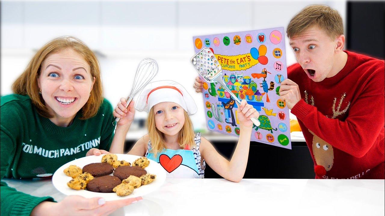 МИИЛАНА как Повар на КУХНЕ! Что Милана и Мама ПРИГОТОВИЛИ Вкусное и сладкое? От Family Box